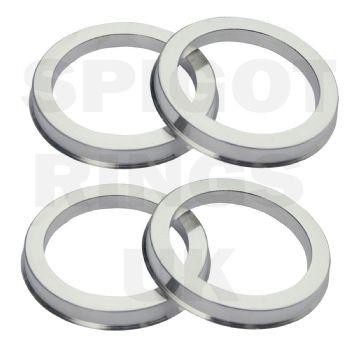 BMW Aluminium Spigot Rings 72.6 - 74.1